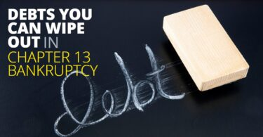DEBTS YOU CAN WIPE OUT IN CHAPTER 13 BANKRUPTCY-BryanKeenan