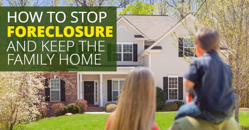 HOW TO STOP FORECLOSURE AND KEEP THE FAMILY HOME-BryanKeenan